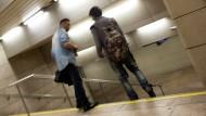 Offener Drogenhandel in der B-Ebene des Frankfurter Hauptbahnhofes