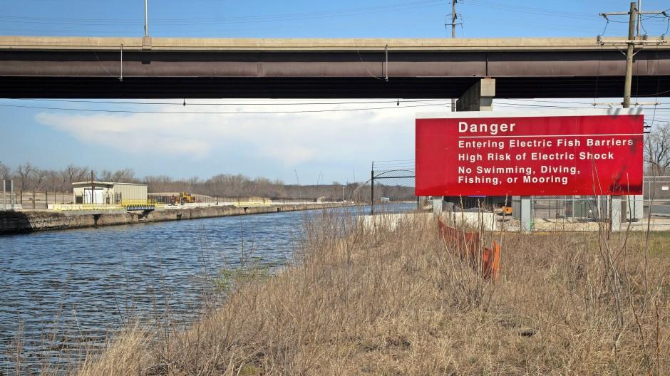 Ein mit besten Absichten angelegter Kanal, der zum fatalen biologischen Highway wurde: Elektrische Fischbarriere am Chicago Sanitary and Ship Canal