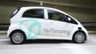 Führerlose Taxis für den Stadtverkehr