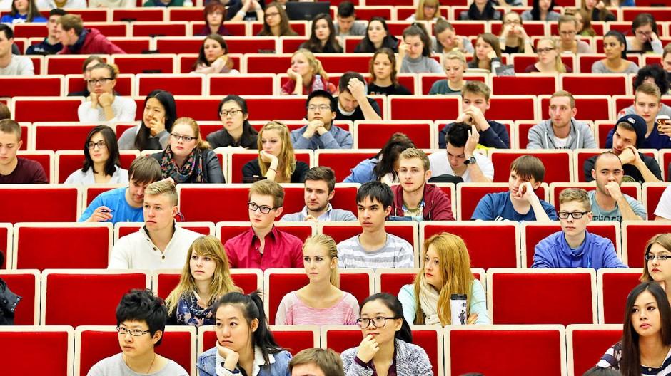 Nicht alle streben eine Professur an: Studierende der Universität Leipzig in einer Vorlesung.