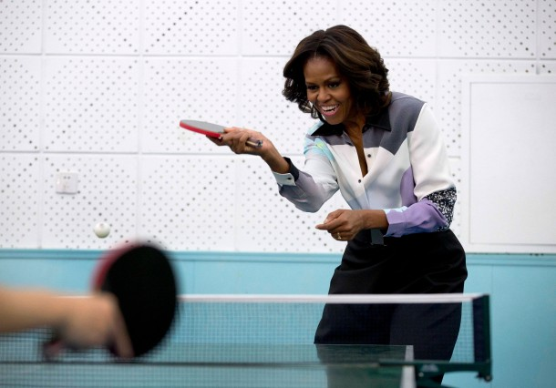 Michelle Obama on China visit