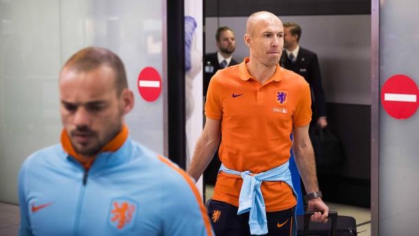 Robben will bei Suche nach Oranje-Trainer mitreden