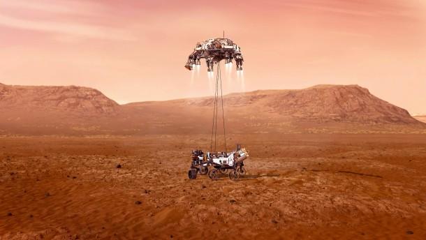 Auf Spurensuche des Lebens auf dem Mars