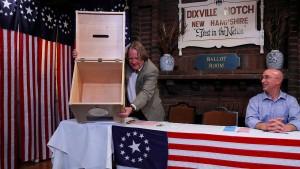 Dorf mit fünf Wählern gibt Startschuss in New Hampshire