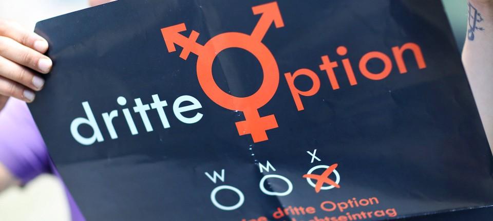 Drittes Geschlecht beschlossen: Männlich, weiblich, divers
