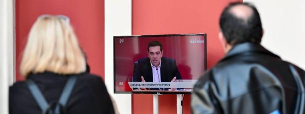 Alexis Tsipras verspricht den Griechen ein besseres Leben. Wer könnte ihm da widerstehen?