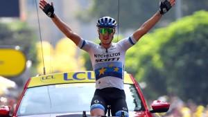 Italiener Trentin gewinnt in Gap – Alaphilippe weiter in Gelb