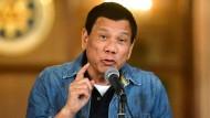 Rodrigo Duterte, Präsident der Philippinen