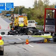 Illegale Autorennen: Vor elf Tagen kam es zum tödlichen Zusammenstoß bei Hofheim.