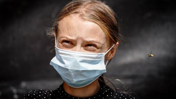 Greta Thunberg geht wieder zur Schule