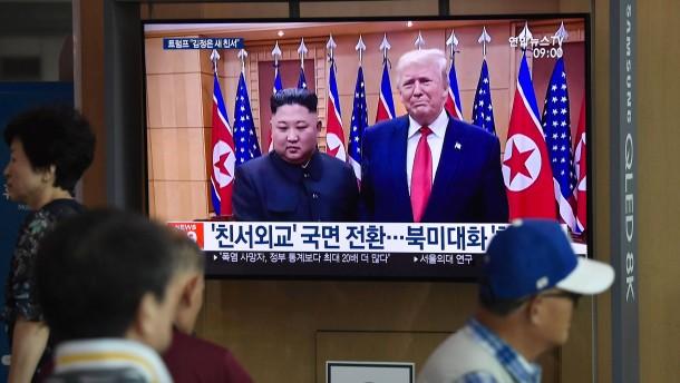 Trump nimmt Kim Jong-un nach Raketentest in Schutz