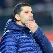 Darmstadts Trainer Dimitrios Grammozis im Januar 2020