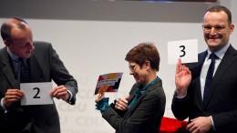 Faire Bewerbung vor der CDU-Basis