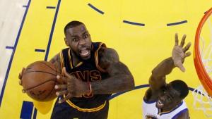 Auch 40 Punkte von LeBron James reichen nicht
