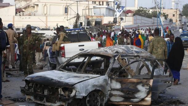 Viele Tote bei Al-Shabaab-Anschlag