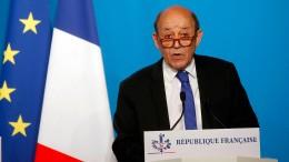 Frankreich kündigt diplomatische Initiativen für Syrien an