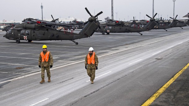 Vereinigte Staaten verlegen rund 1000 Soldaten nach Polen