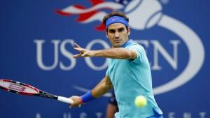 Federer kommt ins Achtelfinale