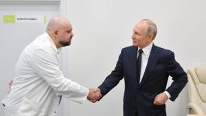 Hat sich Putin mit Corona infiziert?