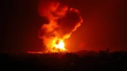 Raketen- und Luftangriffe in Jerusalem