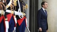 Merkel und Trump zu Gast bei Macron