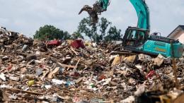 Wohin mit den Müllbergen?