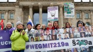 Protest gegen den Paragrafen 219a im Februar in Berlin.