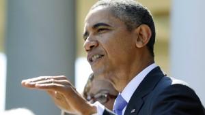 """Obama wirft Republikanern """"ideologischen Kreuzzug"""" vor"""