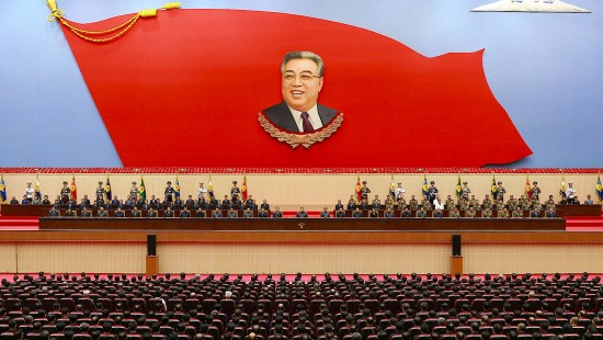 Nordkorea feiert Kim Il Sung