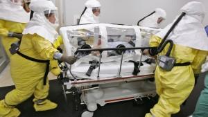 Ebola-Verdachtsfall in Schweden gemeldet