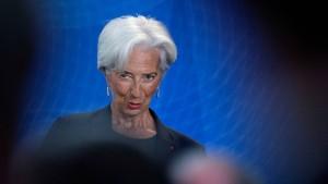 Madame Lagardes große Aufgabe