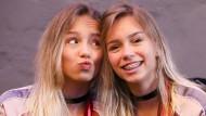 Wer ist wer? Die Musical.ly- und Social-Media-Stars Lisa (links) und Lena (rechts)