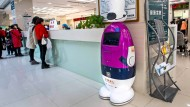 Ist angeblich intelligent: Roboter in einer Universitätsklinik in Schanghai.