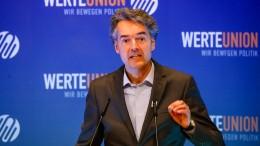 Konservative Werteunion meldet neuen Mitgliederrekord