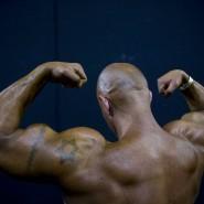 Professioneller Bodybuilder