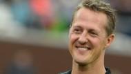 Michael Schumacher 2013 vor seinem Unfall: Seine Familie hatte mindestens 100.000 Euro gefordert.