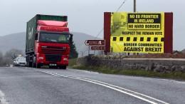 Briten stimmen offener Grenze in Irland zu