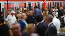 Verspätungen und Zugausfälle auf mehreren Frankfurter S-Bahn-Linien
