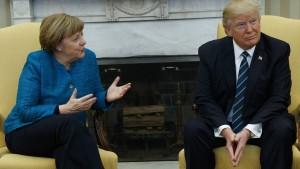 Deutsche Wirtschaft enttäuscht nach Treffen mit Trump