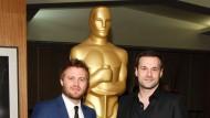 Der Oscar blieb im Hintergrund: Max Zähle (links) und Stefan Gieren