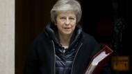 Braucht eine Mehrheit für den Brexit-Deal im britischen Parlament: Premierministerin Theresa May