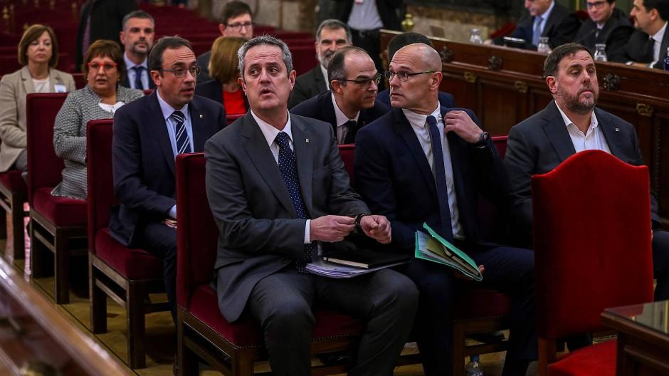 Prozessbeginn gegen katalanische Separatisten