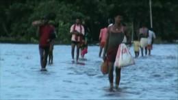 Hunderte Tote durch Überschwemmungen in Indien