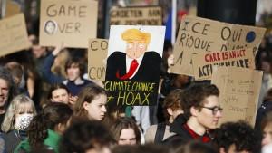 """""""Globale Erwärmung"""" taucht nicht auf"""