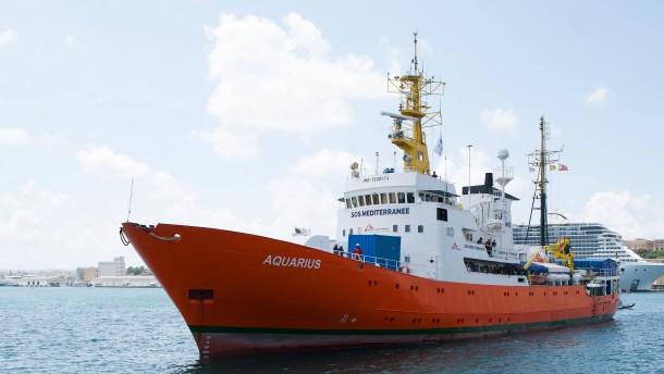 "Italien will Rettungsschiff ""Aquarius"" beschlagnahmen"