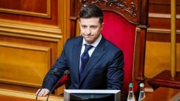 Präsident Selenskyj ordnet Neuwahlen an