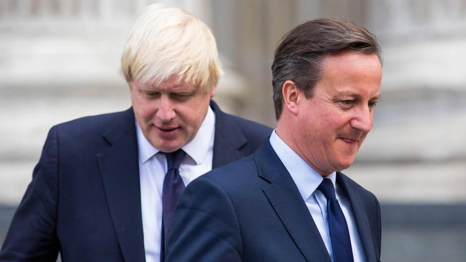 Johnson und Cameron: Haben sie Großbritannien zum Brexit geführt?