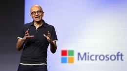 Microsoft lobt die Datenschutz-Regeln
