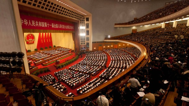 Mehr Geld für innere Sicherheit in China