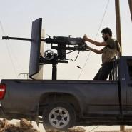"""Syrische Rebellen im Kampf gegen die Dschihadisten vom """"Islamischen Staat"""""""